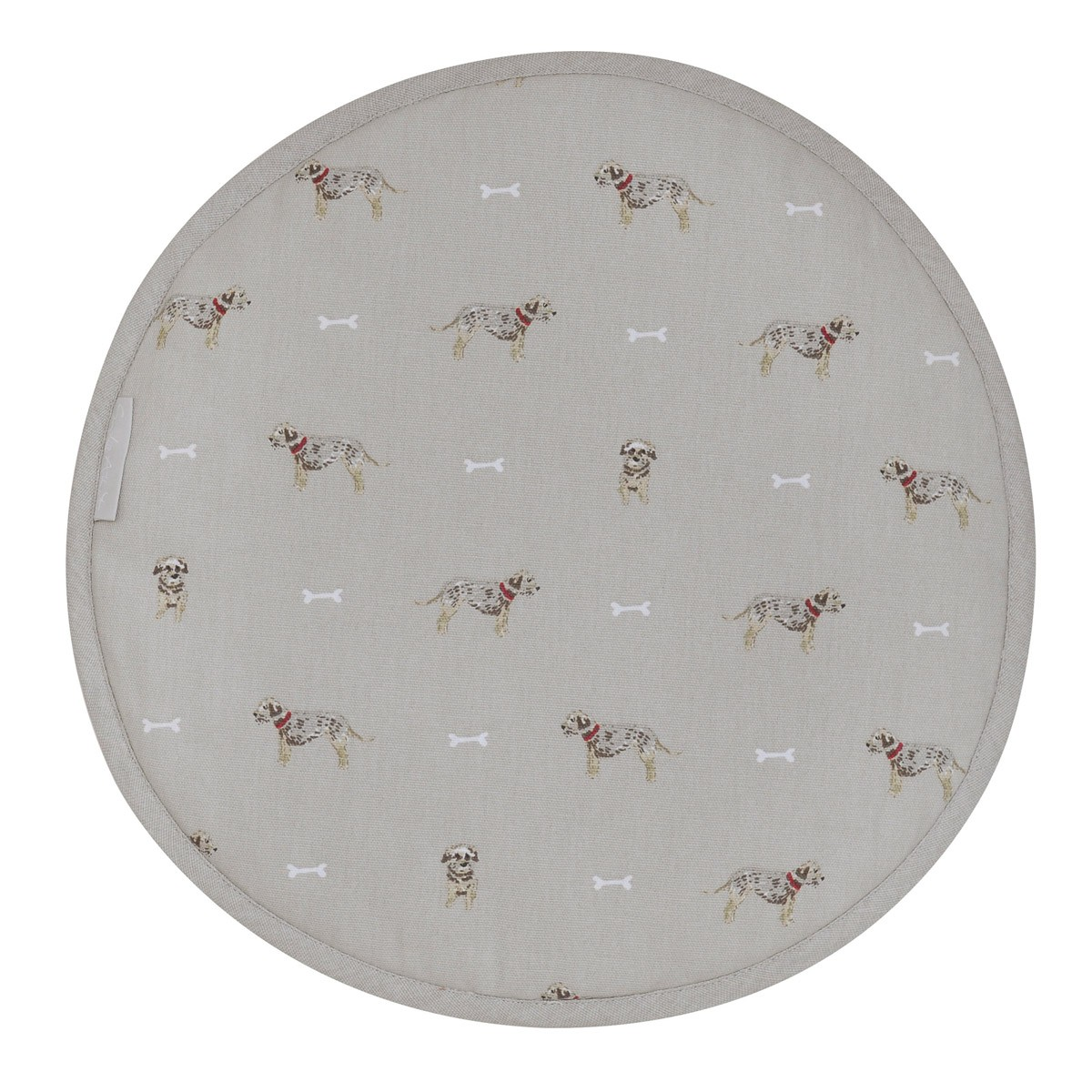 Hob Cover Round - Terrier
